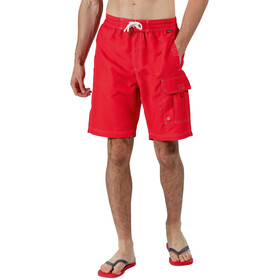 Regatta Hotham Board Shorts Herren true red